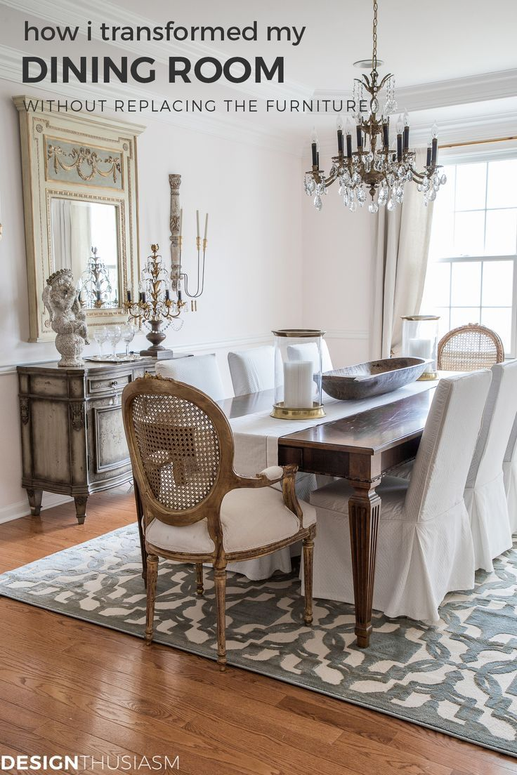 French Country Dining Room, What To Replace A Dining Room With
