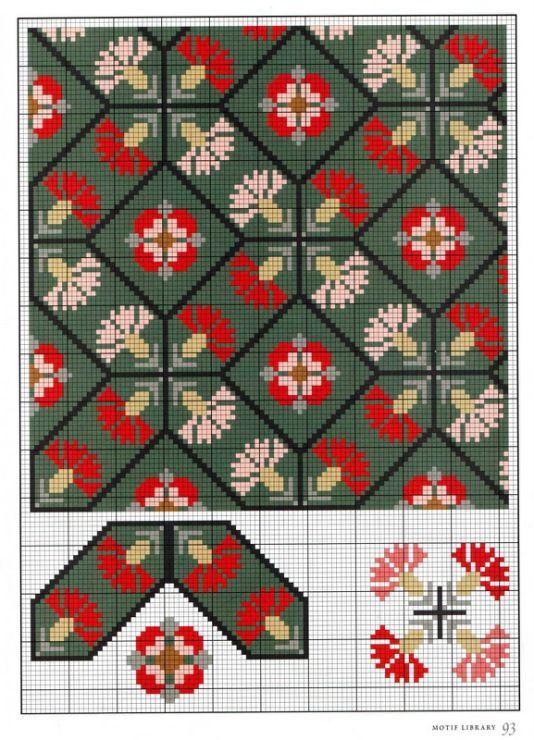 kornflower pattern - Gallery.ru / Фото #90 - 395-elizabethan cross stitch - elypetrova