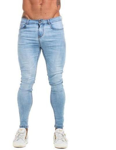 c1c5203bcb Mens Skinny Jeans 2019 Super Skinny Jeans Men Non Ripped Stretch Denim -  chicmaxonline