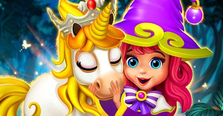 Faye with Unicorn.