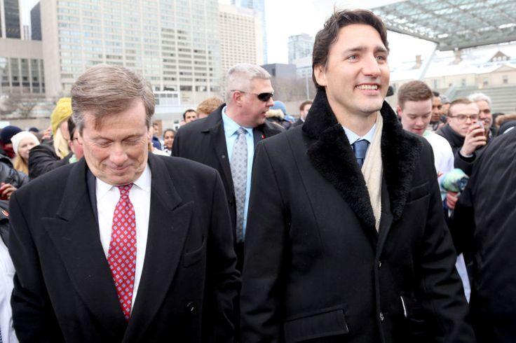 Cheesin' withthe Mayor of Toronto,John Tory, 2016
