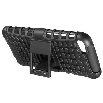 Dual Layers Silicone PC Hybrid Bumper Back Cover Case Stand For iPod Touch 5/6 Sale - Banggood.com