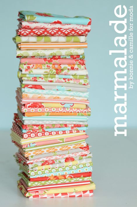 Marmalade - moda: Craft, October 2012, Color, Marmalade, Quilts, Fabrics, Quilt Pattern