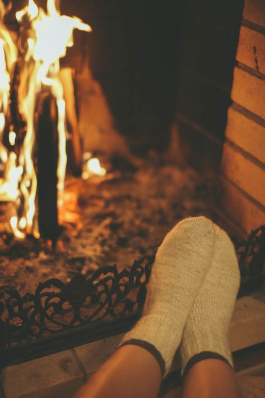 Warm days in front of the fire - Guilty Pleasures