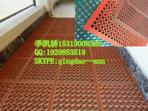 Anti Skidding Restaurant Floor, Oil Proof Kitchen Floor Mat