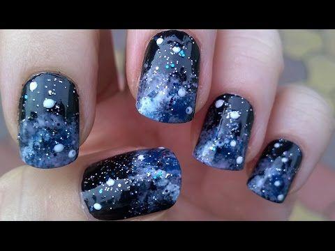 Best 25 sponge nails ideas on pinterest sponge nail design diy easy galaxy nail art tutorial sponge nails youtube prinsesfo Gallery