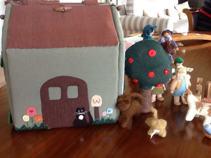 This the front of the farm barn with all its farm friends.