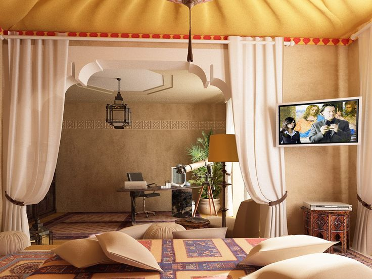 Perfect 40 Moroccan Themed Bedroom Decorating Ideas Part 29