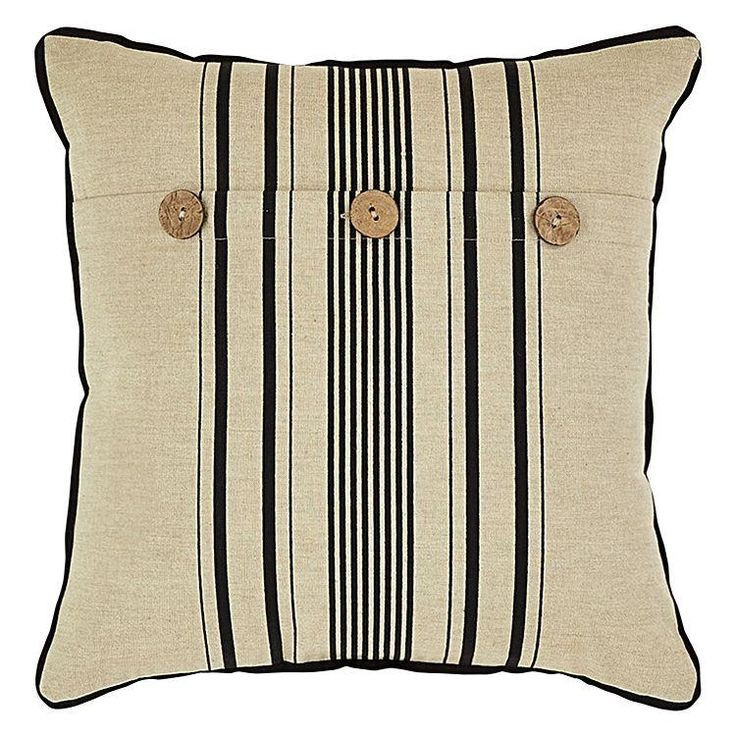 Ettie Stripe Cushion
