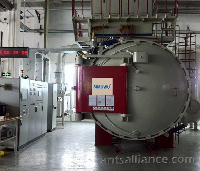 Horizontal Vacuum High Pressure Gas Quenching Furnace