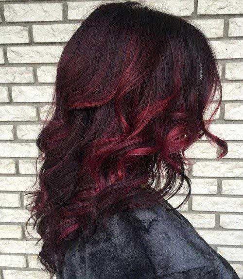 25  Hair Colour Ideas for Dark Hair