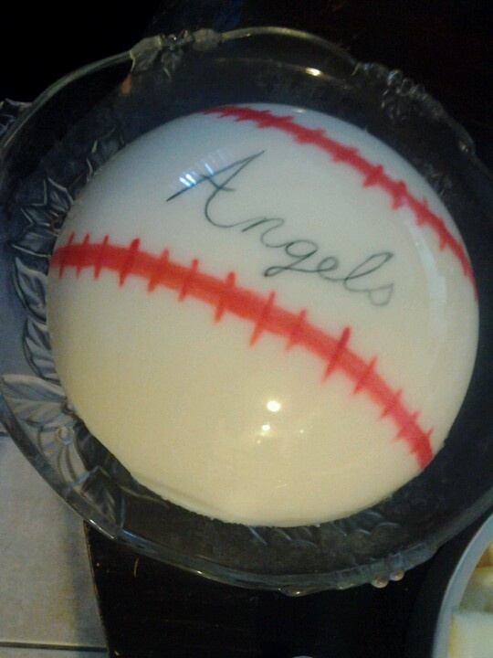 Baseball jello