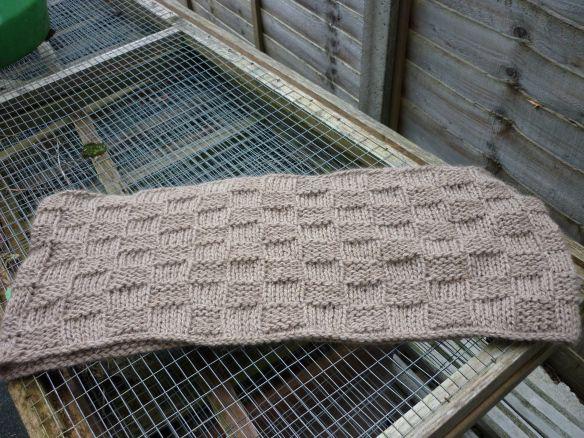 Woven Basket Procedure : Chunky basket weave cowl free pattern