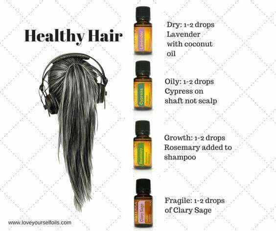 Essential oils for you hair! find your essential oils and more at www.mydoterra.com/dianesulzer
