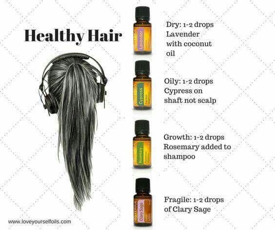 Haar type shampoo en haargroei welke olie