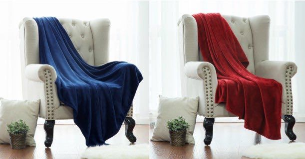 Amazon: Bedsure Plush Microfiber Blankets Starting At Just $11.99!