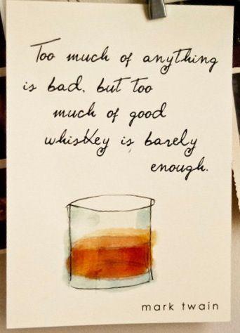 If Mark Twain said it - it must be true!