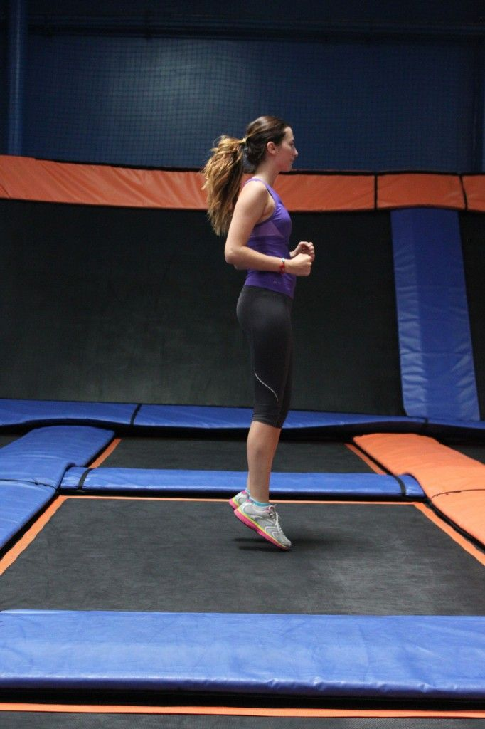 Trampoline Workout: Putting some bounce in your routine can help you burn more calories—and ward off injury.