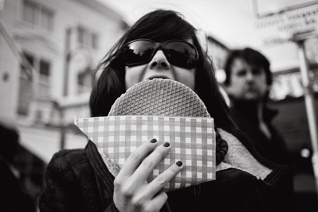 Super Stroopwafel by keoshi, via Flickr