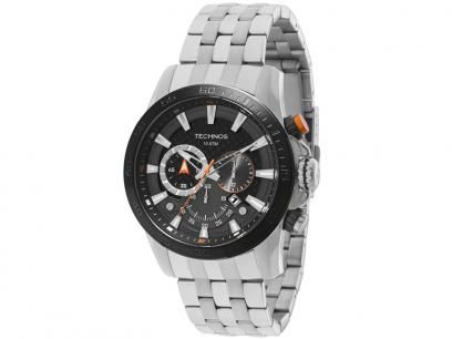 Relógio Masculino Technos 2115KLU/3P Analógico - Resistente à Água Cronógrafo com as melhores condições você encontra no Magazine Fariasevoce. Confira!