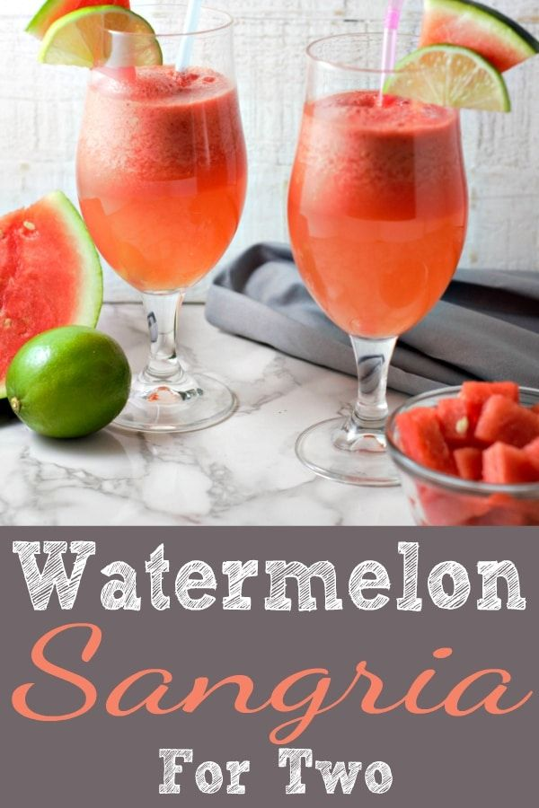 Watermelon Sangria Is A Cool Delicious And Refreshing Drink And It S Gorgeous Too Fresh Watermelon Adds Watermelon Sangria Sangria Recipes Wine Punch Recipes