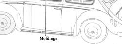 Body Molding Kit, 7 pcs.,German, Super Beetle ' 73-'79 Product Code: 111898111EGR Price: $44.99 Why settle for used, when you can buy a new one today! Fits Super Beetle's and convertable from ' 73 - ' 79 #aircooled #combi  #1600cc #bug #kombilovers #kombi #vwbug #westfalia #VW #vwlove #vwporn #vwflat4 #vwtype2 #VWCAMPER #vwengine #vwlovers #volkswagen #type1 #type3 #slammed #safariwindow #bus #porsche #vwbug #type2 #23window #wheels #custom #vw #EISPARTS