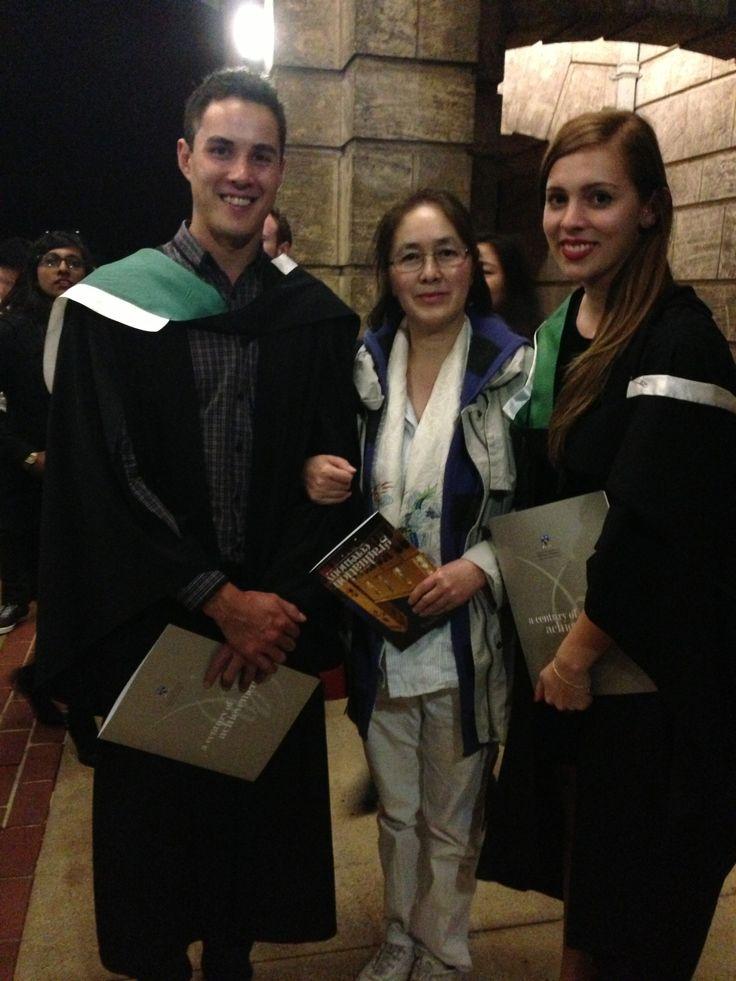 Graeme and Sophie's Graduation 18/9/13