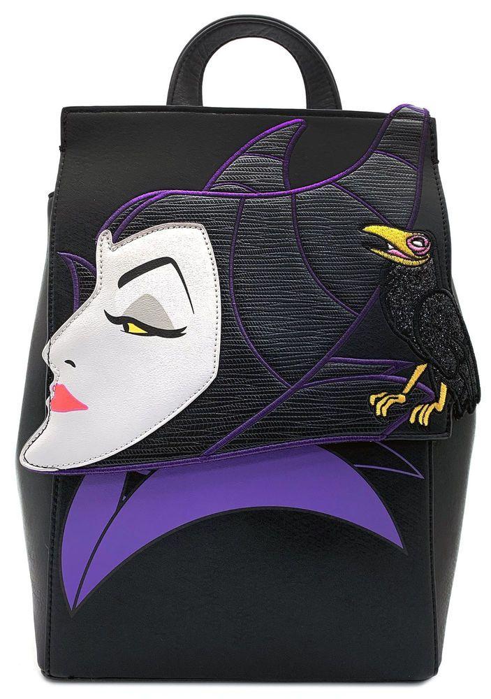 92c9937b743 Danielle Nicole x Disney MALEFICENT Backpack with Raven Sleeping Beauty  NDN48165  DanielleNicolexDisney  Backpack