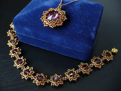 Почти что золото | biser.info - всё о бисере и бисерном творчестве