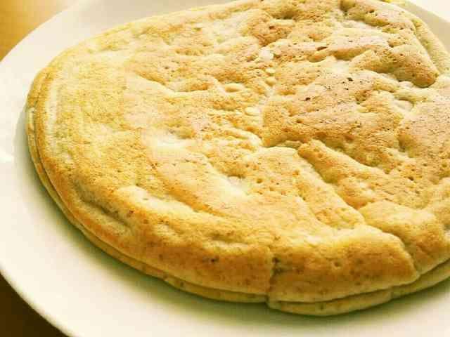 超簡単!低糖質!! プロテインパンケーキの画像