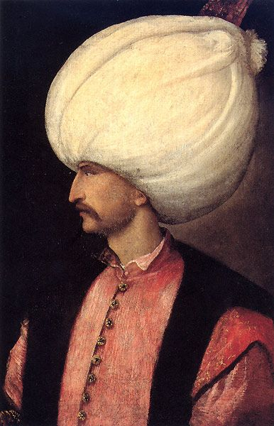 Sultan Suleiman I of the Ottoman Empire