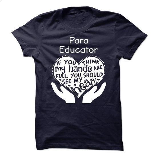 Para Educator - #cool t shirts for men #custom sweatshirt. MORE INFO => https://www.sunfrog.com/LifeStyle/Para-Educator-63511628-Guys.html?60505
