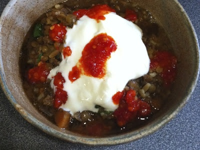 Lamb and lentil stew made from slow roast lamb leftovers http ...