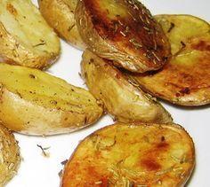 Cómo hacer patatas asadas al horno. Las patatas Patatas asadas al horno muy fáciles para guarnición