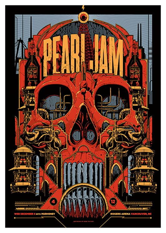 Pearl Jam Poster, available at 45x32cm.This poster is printed on matt coated 350 gram paper.