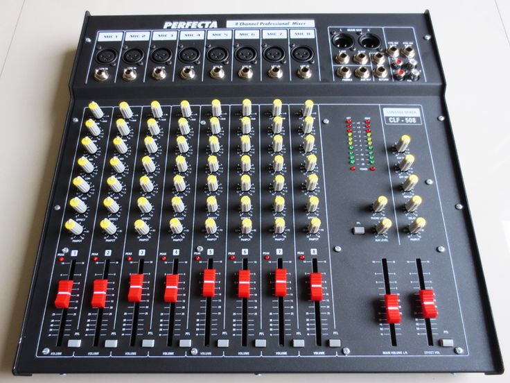 Komplit Mixer Audio 8 Channel