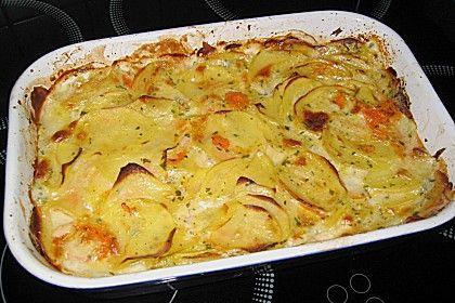 Das beste Kartoffelgratin (Rezept mit Bild) von etikette | Chefkoch.de