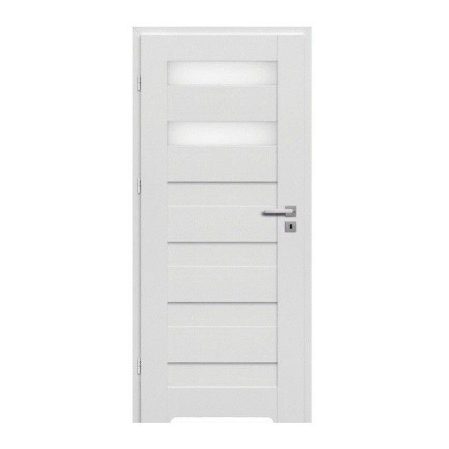 Drzwi z podcięciem Trame 80 lewe białe - Drzwi jednoskrzydłowe - Drzwi - Drzwi wewnętrzne - Wykończenie