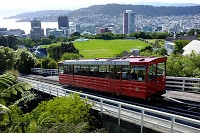 Wellington, NZ cable car to the Botanic Garden... read more