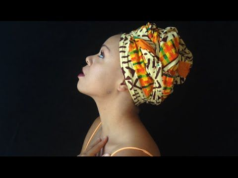 AFRICAN HEAD WRAP TUTORIAL! - YouTube