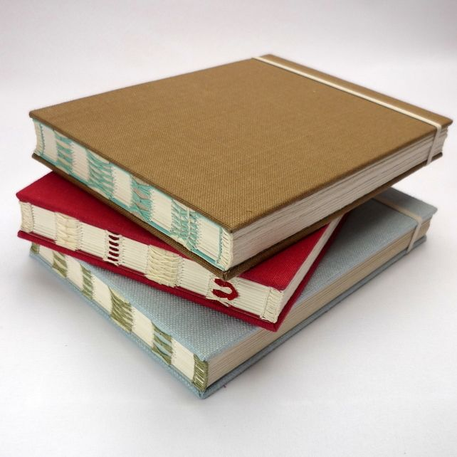 Book Binding, Hand Sewing, All Paper