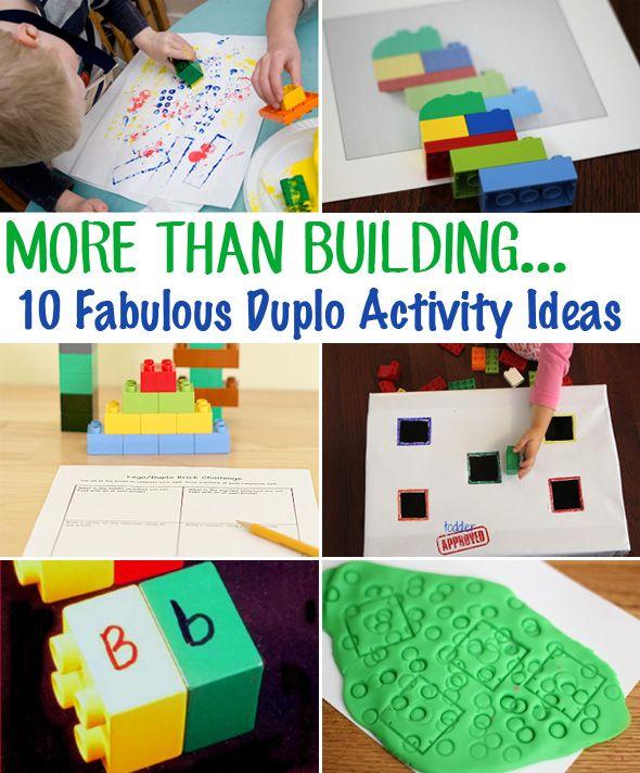 More Than Building: 10 fabulous Duplo block activity ideas