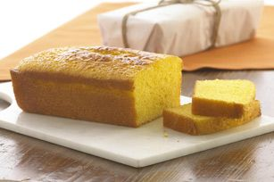 Triple Hit Lemon Loaves recipe - This recipe makes two, so you can put one in the freezer, ready for company! #desserts
