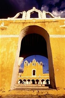 cloister izamel mexico yucatan