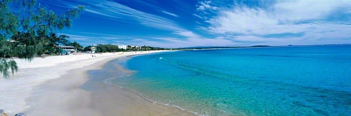 Peter Lik's gorgeous photo of Main Beach, Noosa.