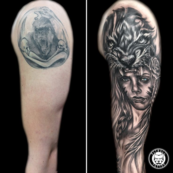 Cover Up Tattoo Done @ Pitbull Tattoo Thailand Secure your Booking now: 🇬🇧 English ==> bit.ly/pitbullbookingEN 🇨🇵 French ==> bit.ly/pitbullbookingFR 🇩🇪 Deutsch ==> bit.ly/pitbullbookingDE