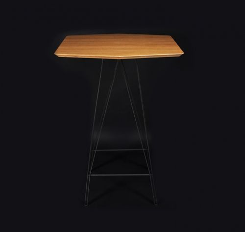 mesa 02 de la línea plegable por mas·arquitecutra #design #diseño #interiorismo #arquitectura #masarquitectura #furniture #furnituredesing #mobiliario #branding #wood #madera