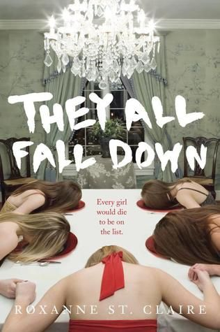 They All Fall Down by Roxanne St. Claire | Publisher: Delacorte Press | Publication Date: October 14, 2014 | www.roxannestclaire.com | #YA Psychological #Thriller