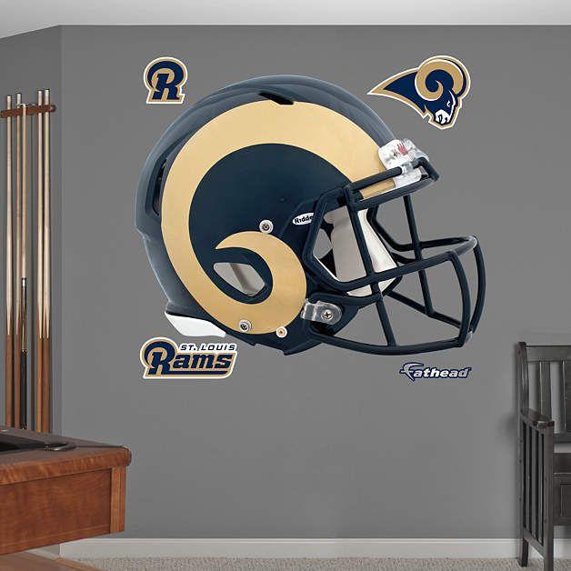 Delightful Fathead St Louis Rams Helmet Wall Graphic   Wall Sticker Outlet Idea