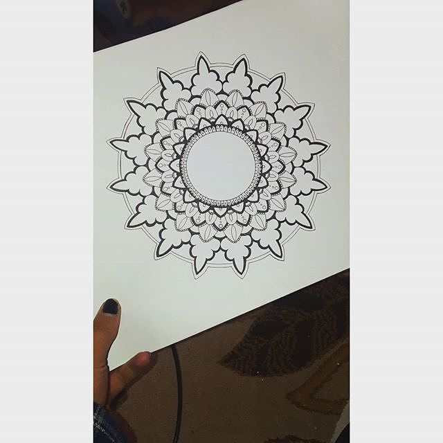 Reposting @lexbick.art: Wanting to do more detailed mandalas but too impatient . . . . . #art #drawing #artistic #drawings #artgallery #artists #art #artlife #artstagram #drawingoftheday #artlovers #artworks #artforsale #artlover #artstudio #artmaking #arts #artist #artwork #mandaladrawing #painters #mandalasdaily #heymandalas #blackandwhite #draw #sketching #mandalatattoo #mandala #mandalas #mandalalife